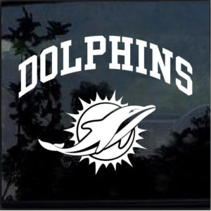 Miami Dolphins Decal Sticker