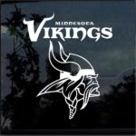 Minnesota Vikings Window Decal Sticker