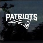 New England Patriots d2 Window Decal Sticker