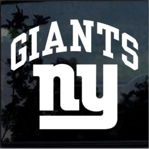 New York NY Giants Decal