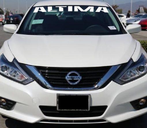 Nissan Altima windshield decal sticker