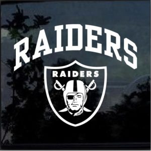 Oakland Raiders Decal Sticker