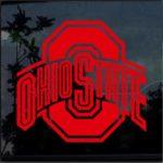 Ohio State Buckeyes Window Decal Sticker