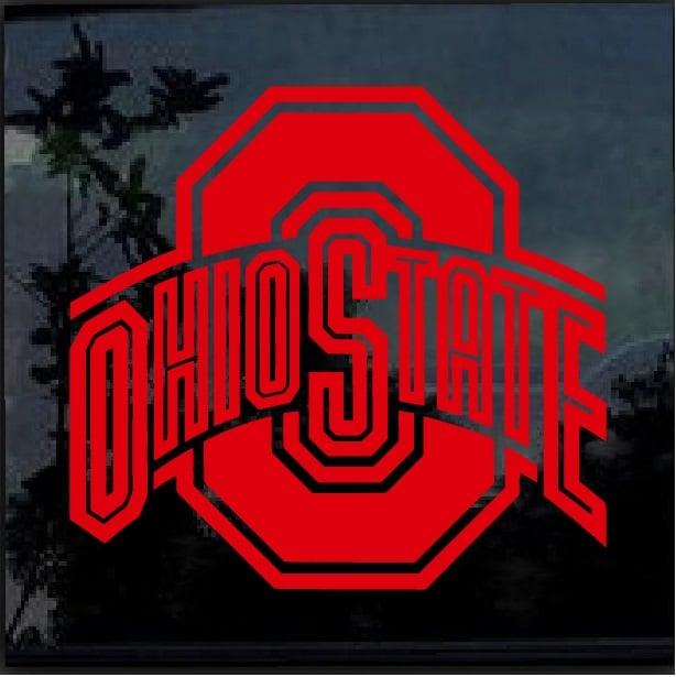 Decal Window Sticker – Sticker Custom Shop State Buckeyes Ohio
