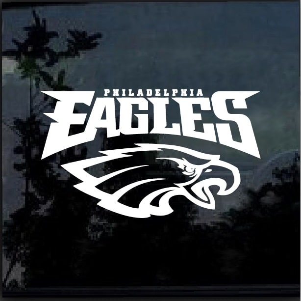 Philadelphia Eagles D2 Window Decal Sticker Custom