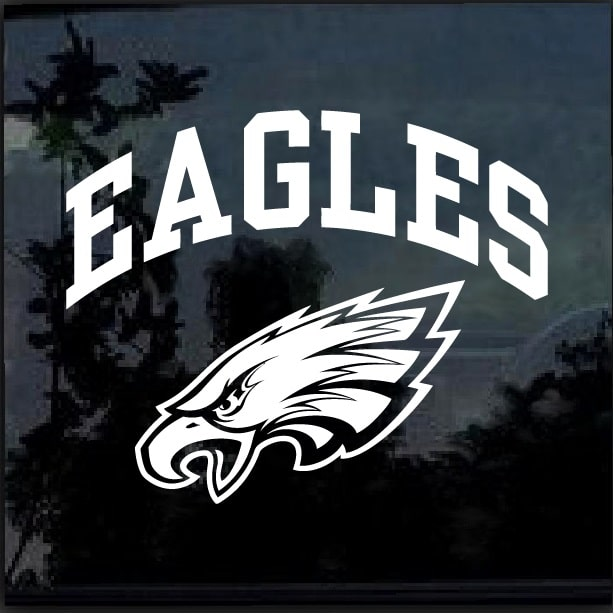 Philadelphia Eagles Window Decal Sticker Custom Sticker Shop