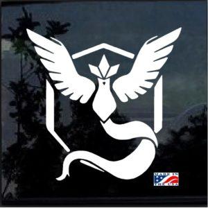 Pokemon Go Team Mystic Symbol Decal Sticker