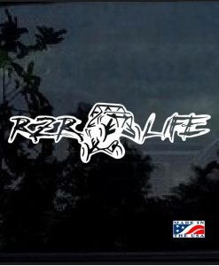 RZR Life Decal Sticker