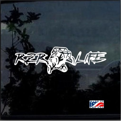 RZR Life Decal Sticker