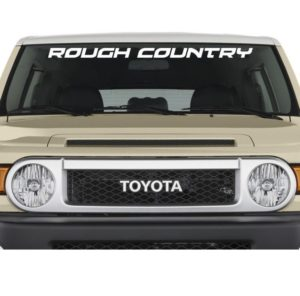 Rough Country windshield decal sticker