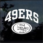 San Francisco 49ers Window Decal Sticker