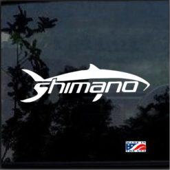 Shimano Decal Sticker