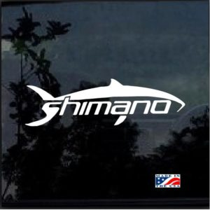 Shimano Decal Sticker