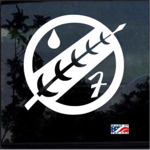 Star Wars Boba Fett Mandalorian Crest Decal Sticker