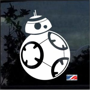 Star Wars Decal The Force Awakens BB8 Decal Sticker
