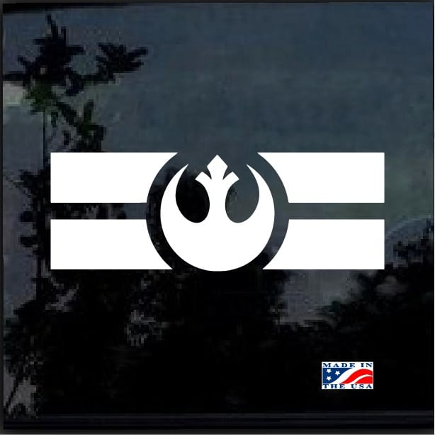 Star Wars Rebel Alliance Emblem Car Or Truck Window Laptop Decal Sticker Ebay