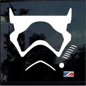 Star wars First Order Trooper Decal Sticker