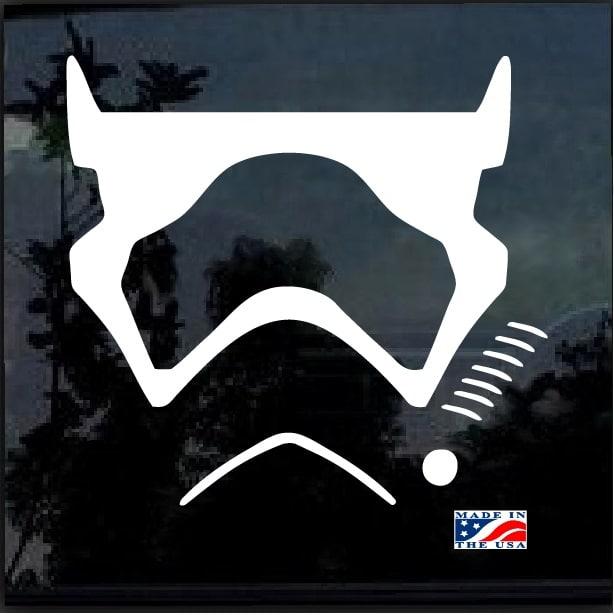 Star Wars First Order Emblem Badge Vinyl Car Window Laptop Decal Sticker Ebay