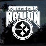 Steelers Nation Window Decal Sticker