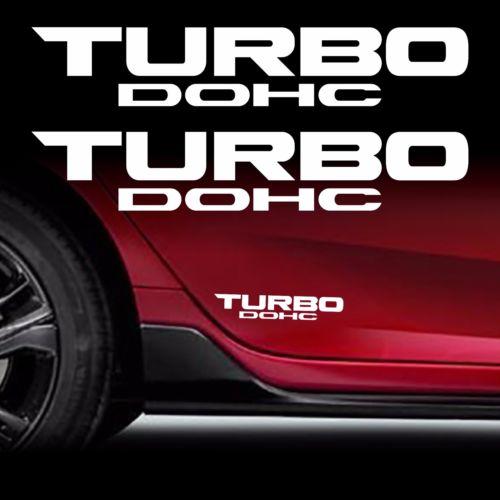 TURBO DOHC Decal Sticker