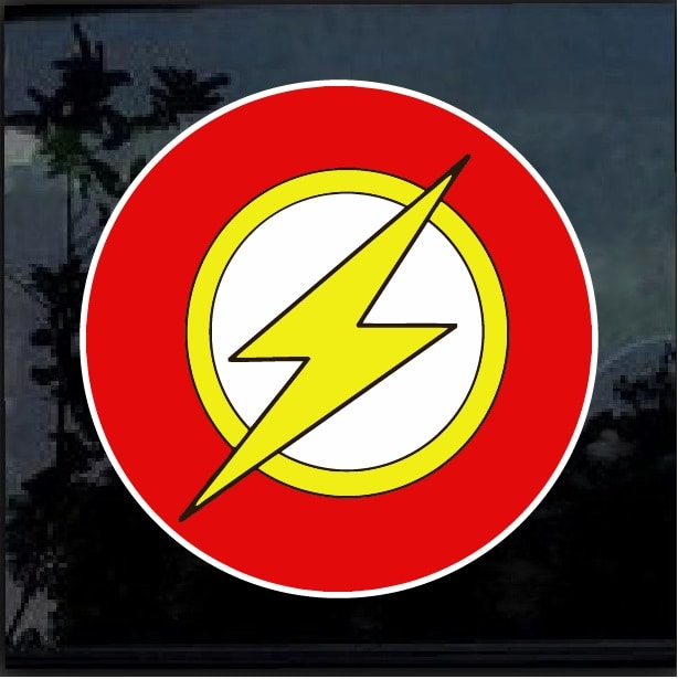 The Flash Full Color Decal Sticker Custom Sticker Shop
