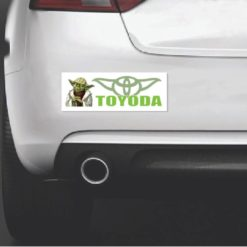 Toyoda Yoda Star Wars Bumper Sticker