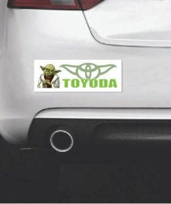 Toyoda Yoda Star Wars Bumper Sticker