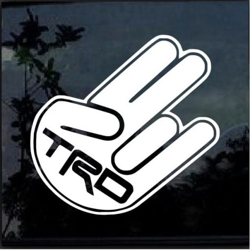 Toyota TRD Shocker Decal Sticker