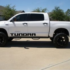 Toyota Tundra Door Runner Decal Sticker Set of 2