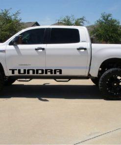 Toyota Tundra Door Runner Decal Sticker Set of 2