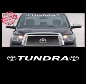 Toyota Tundra Windshield Decal Sticker