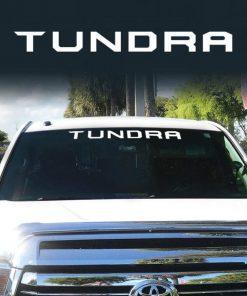 Toyota Tundra Windshield Decal Sticker a2