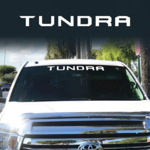 Toyota Tundra Windshield Decal Sticker a2