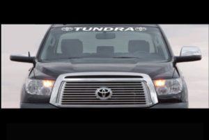 Toyota Tundra Windshield Decal Sticker