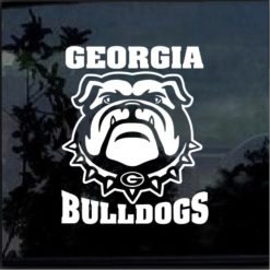 UGA Georgia Bulldogs Decal Sticker