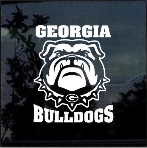 UGA Georgia Bulldogs Decal Sticker