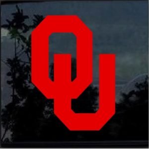 University of Oklahoma Sooners OU Decal Sticker