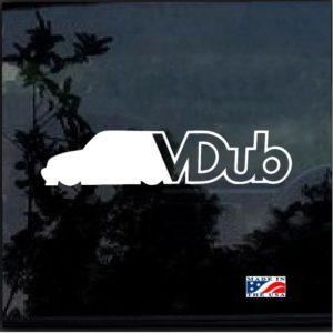 VOLKSWAGEN V DUB Golf Decal Sticker