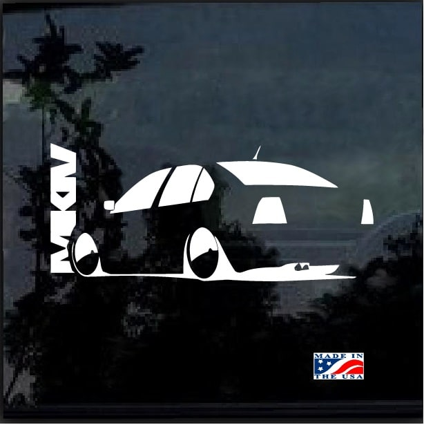 Vw Volkswagen Mk4 Jetta Decal Sticker