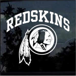Washington Redskins Decal Sticker