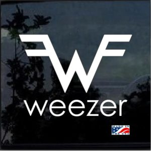 Weezer Band Decal Sticker