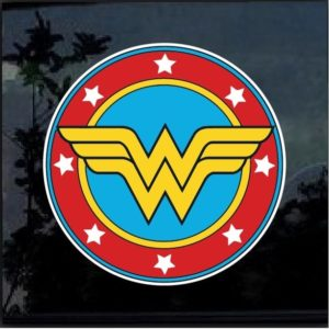 Wonder Woman color decal sticker