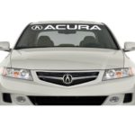 Acura a2 Windshield Banner Decal Sticker