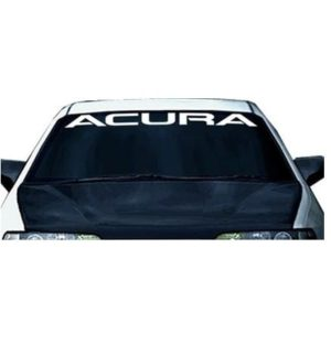 Acura Windshield Decal Sticker