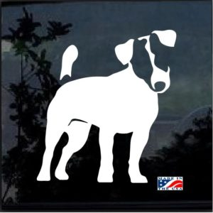 jack Russell Terrier decal sticker