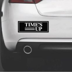 Times Up Movement Bumper Sticker