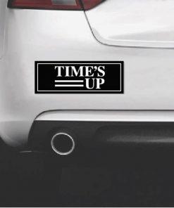 Times Up Movement Bumper Sticker