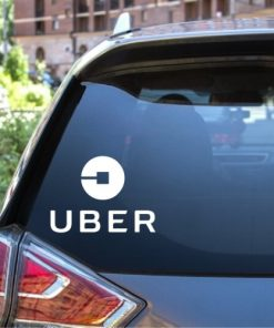 uber window decal sticker new