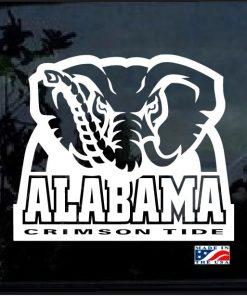 Alabama Crimson Tide Football Decal Sticker