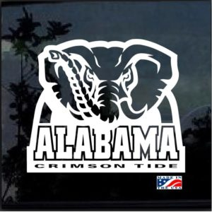 Alabama Crimson Tide Football Decal Sticker
